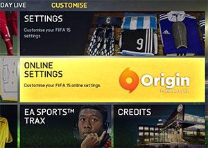 origin online settings