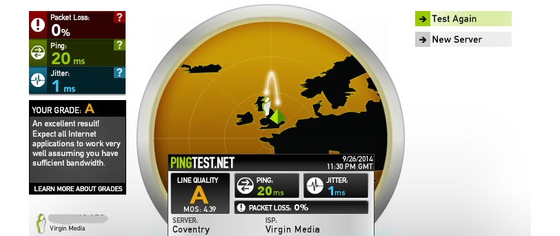 FIFA ping test