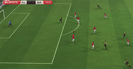 FIFA16 Defending