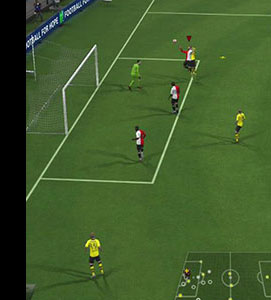 FIFA cross header win 3