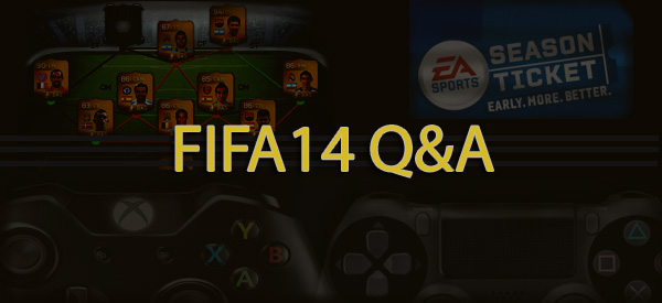FIFA14 questions answered
