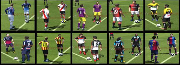 Best Kits in FIFA14
