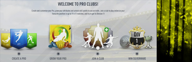 FIFA Pro Clubs new features
