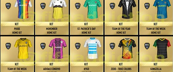 Part 2 of the new special FUT kits