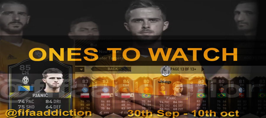 FIFA Ones to Watch guide