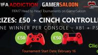 Win cash and a Cinch Controller - FIFAAddiction tournament