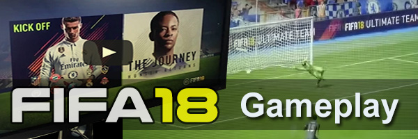 FIFA 18 gameplay videos