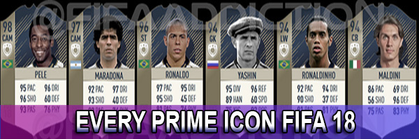 All FUT Prime icons