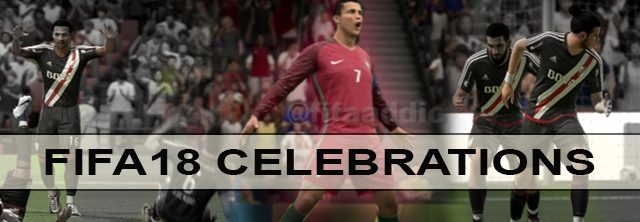 FIFA 18 celebrations tutorial